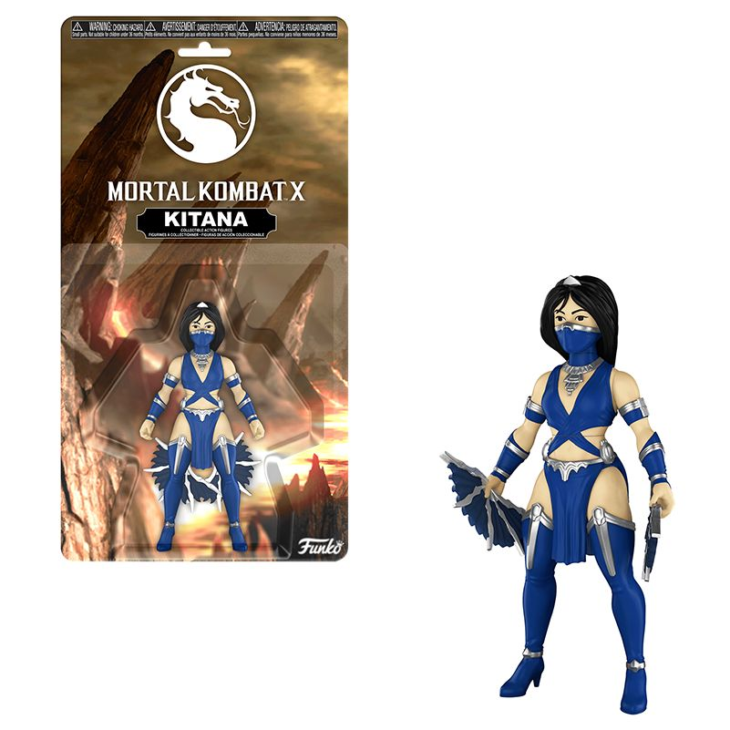 Funko Mortal Kombat X Kitana Action Figure NEW IN STOCK Toys and Collectibles