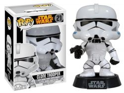 Funko Pop Boneco Clone Trooper Star Wars Disney