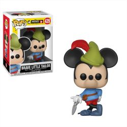 Funko Pop Boneco Mickey Mouse Brave Little Tailor 90 Anos Disney