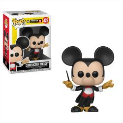 Funko Pop Boneco Mickey Mouse Conductor 90 Anos Disney 428
