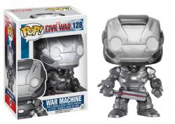 Funko Pop Boneco War Machine Civil War Marvel