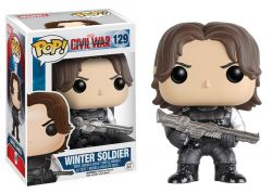 Funko Pop Boneco Winter Soldier Civil War Marvel