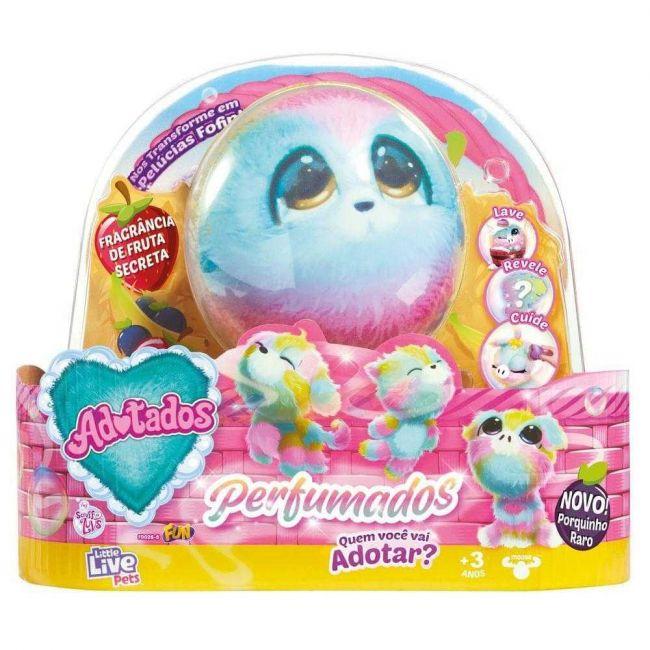Fur Balls Pets Adotados Perfumado Brinquedo Surpresa Pelúcia Fun