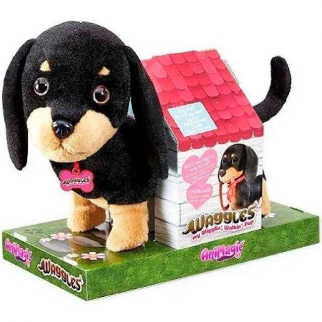 Fur Balls Pets Adotados Cachorrinho Salsicha Pelúcia Fun