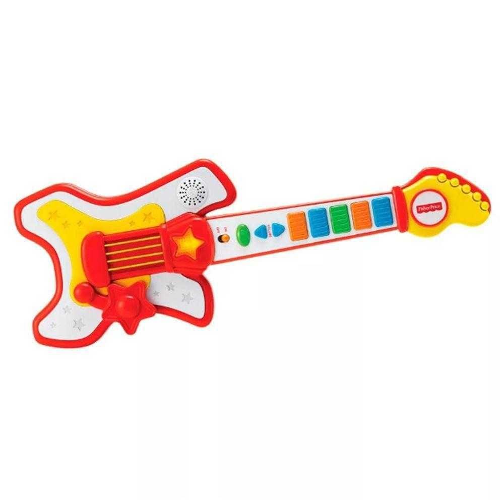 Guitarra Musical Infantil Rockstar Fisher Price Fun