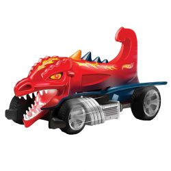 Hot Wheels Road Rippers Dragon Blaster Fighters Som E Luz Dtc