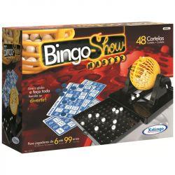 Jogo Bingo Show Master 48 Cartelas Dispenser Gaveta Xalingo