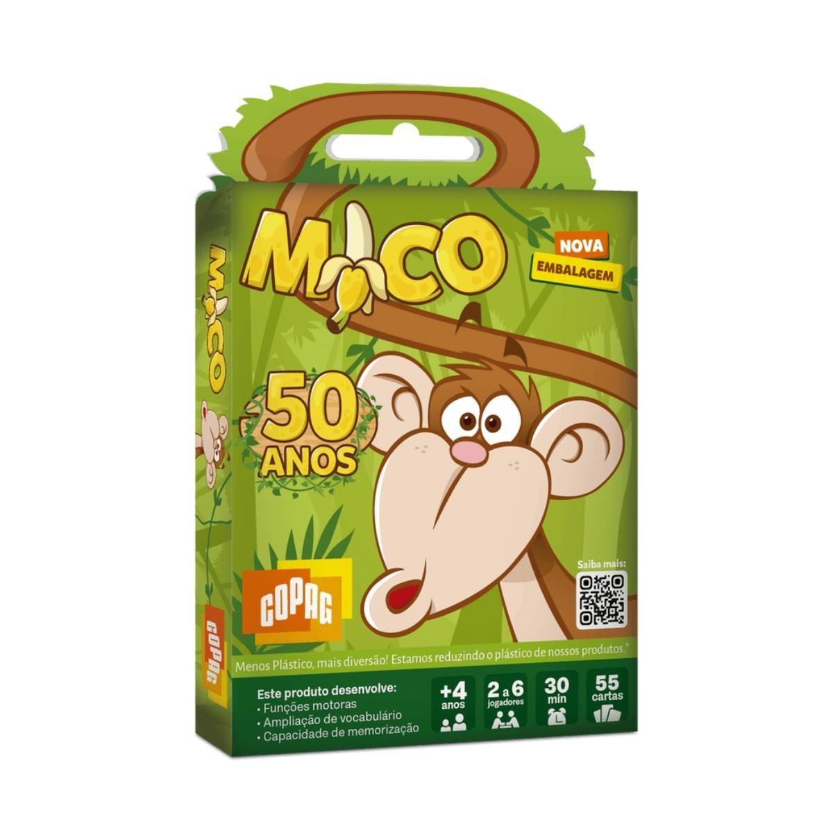 Jogo de Cartas Baralho Mico Original - Copag