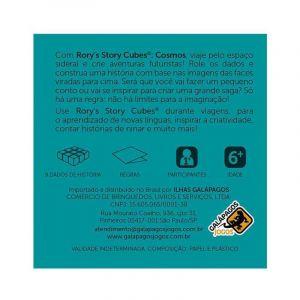Jogo de Dados Rory Story Cubes Cosmos Galápagos