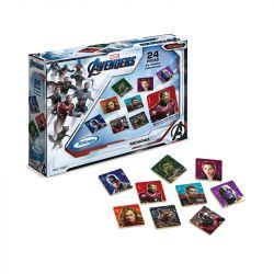 Jogo de Memória Avengers 24 Peças em Madeira - Xalingo