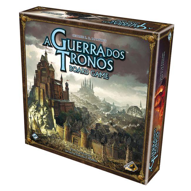 Jogo de Tabuleiro A Guerra dos Tronos Board Game 2ª Edição Galápagos