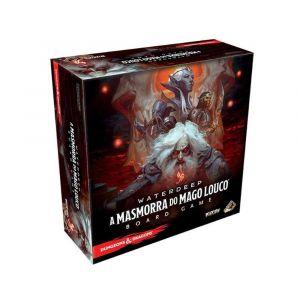 Jogo de Tabuleiro Dungeons and Dragons A Masmorra do Mago Louco Português Galápagos
