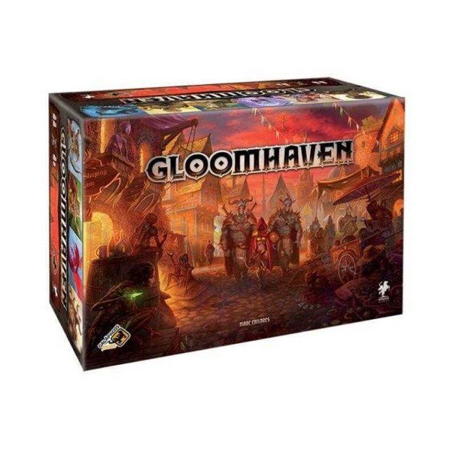 Jogo de Tabuleiro Gloomhaven Board Game em Português Galápagos