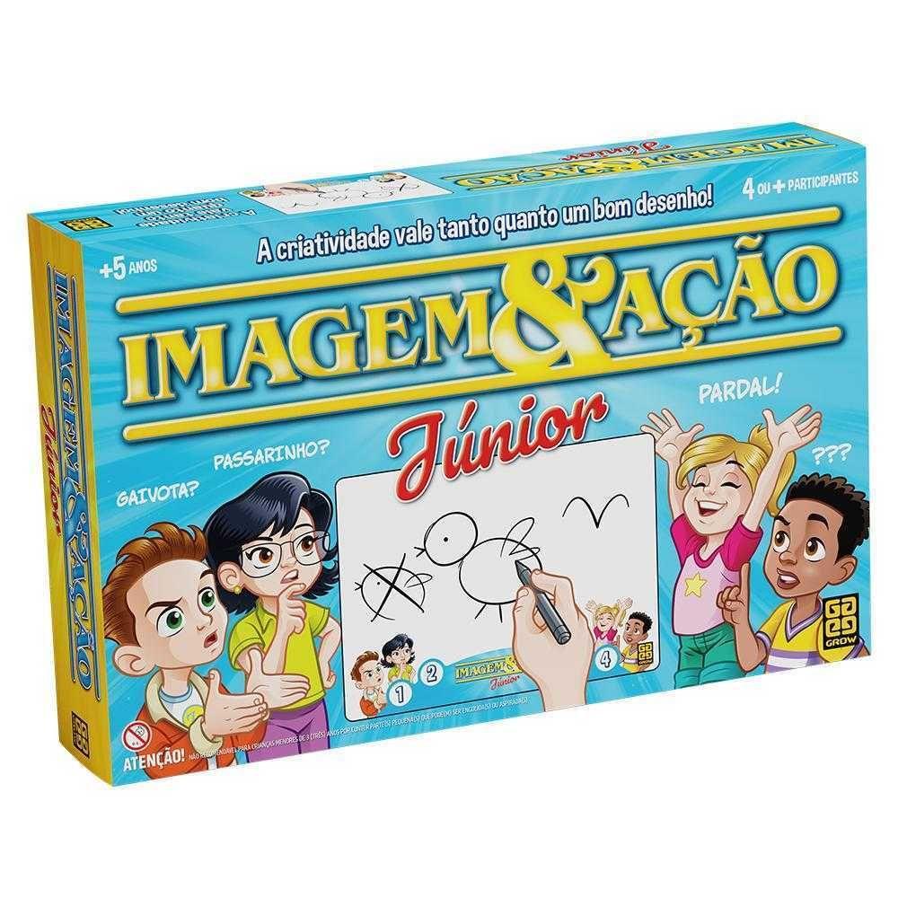 Jogo De Tabuleiro Imagem & Ação Júnior Grow