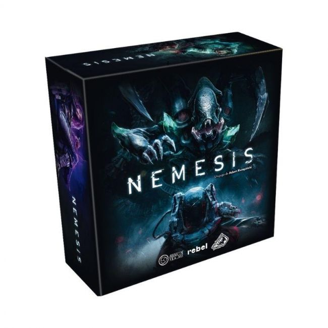 Jogo de Tabuleiro Nemesis Board Game em Português Galápagos
