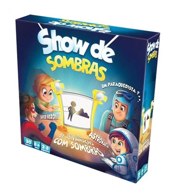 Jogo De Tabuleiro Show de Sombras Teatro Galápagos