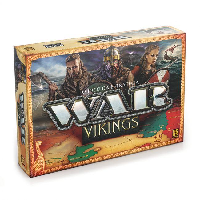 Jogo De Tabuleiro War Vikings O Jogo Da Estrategia Grow