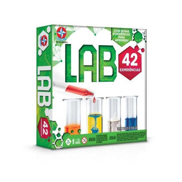Jogo Lab 40 Kit De Experiências 42 Experiências Estrela