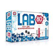 Jogo Lab 80 Kit De Experiências 80 Experiências Estrela