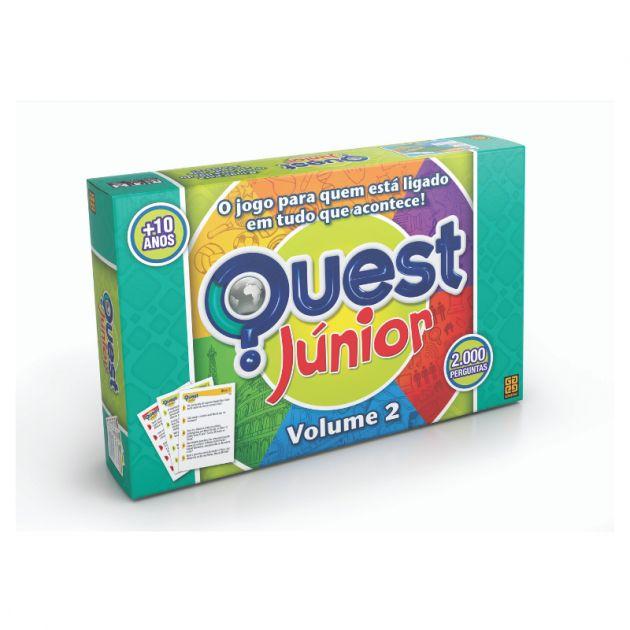 Jogo Quest Júnior Volume 2 Grow
