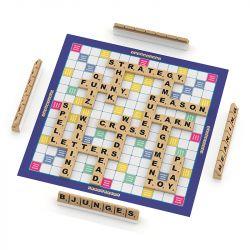 Jogo Tabuleiro Palavras Cruzadas em Inglês Crosswords - Junges