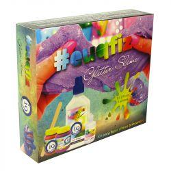 Kit Slime Completo para Fazer Slime Glitter Premium da i9