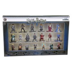 Kit De Bonecos Harry Potter 4 Cm Nano Metalfigs Com 20 Figuras Jada Toys