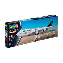 Kit de Montar Boeing 747-400 Iron Maiden Ed Force One 1:144 Revell