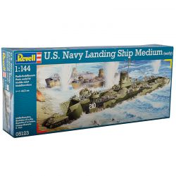 Kit de Montar US Navy Landing Ship Medium 1:144 Revell