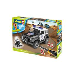 Kit de Montar Off Road Vehicle Police 1:20 Revell Júnior