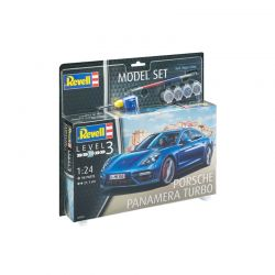 Kit de Montar Porsche Panamera Turbo 1:24 Model Set Revell