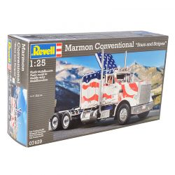 Kit De Montar Revell 1:25 Caminhão Marmon Conventional Stars And Stripes
