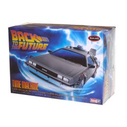 Kit de Montar Delorean De Volta para o Futuro 1:25 Snap It Polar Lights