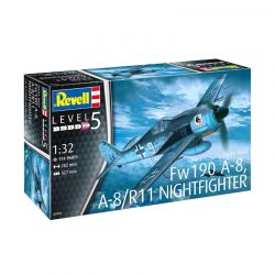 Kit de Montar Focke Wulf FW190 A-8 R11 Nightfighter 1:32 Revell