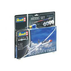 Kit de Montar Planador Duo Discus Engine 1:32 Model Set Revell
