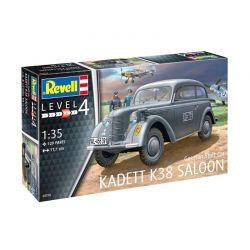Kit de Montar German Staff Car Kadett K38 Saloon 1:35 Revell