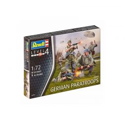 Kit de Montar German Paratroops WW II 1:72 Revell
