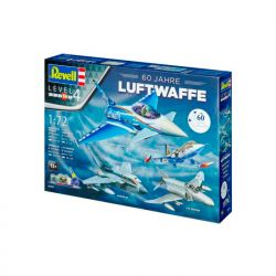Kit De Montar Revell 1:72 Gift Set 60 Anos Luftwaffe 4 Kits