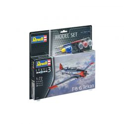 Kit de Montar T-6 G Texan 1:72 Model Set Revell
