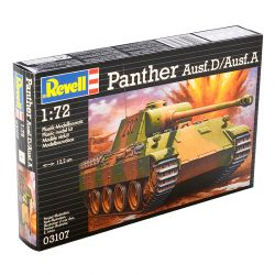 Kit de Montar Tanque Panther Ausf.D Ausf. A 1:72 Revell