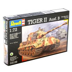 Kit de Montar Tanque Tiger II Ausf. B Production Turret 1:72 Revell