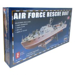 Kit de Montar Air Force Rescue Boat 1:72 Lindberg