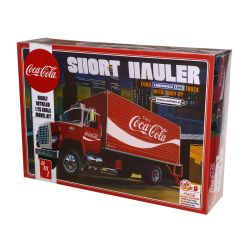 Kit De Montar Amt 1:25 Short Hauler Coca Cola Ford Louisville 1970