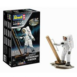 Kit de Montar Apollo 11 Figura de Astronauta na Lua 1:8 Model Set Revell