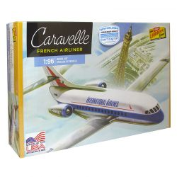Kit de Montar Avião Caravelle French Airliner 1:96 Lindberg