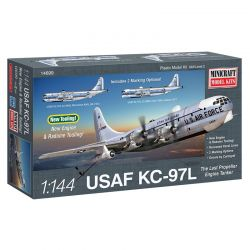 Kit de Montar Avião USAF KC-97L Utah Air Guard 1:144 Minicraft