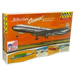 Kit de Montar British Jetliner DeHavilland Comet 1:144 Lindberg
