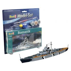 Kit de Montar Couraçado Bismarck 1:1200 Model Set Revell