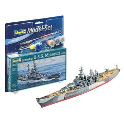 Kit de Montar Couraçado U.S.S Missouri 1:1200 Model Set Revell