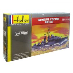 Kit de Montar Destroyer D'Escadre Surcouf 1:400 Heller